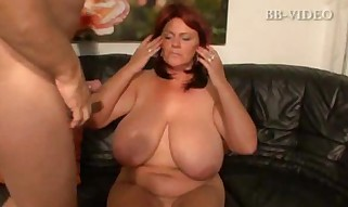 Fat Breasted German Mature Pin 2