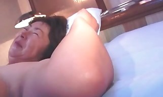Old Buxomy Asian Lady With Massive Tits Part4